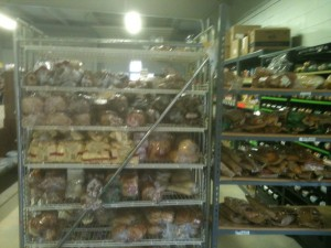 The bread shelf at Master's Manna