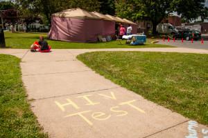 test tent